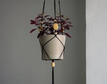 Macrame Plant Hanger /pot holder/planters/home decor/fiber art/hanging plant/macrame/wall hanging/plant holder/macrame wall hanging/bohochic