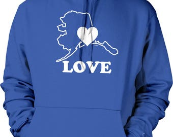 Love California Hooded Sweatshirt, NOFO_01136