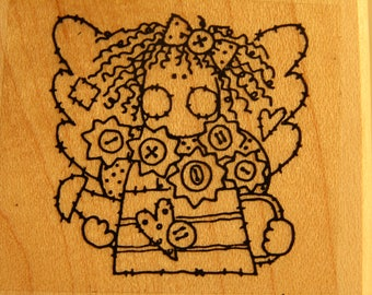 Angel Stamps Rubber Stamps ~ Angel #3