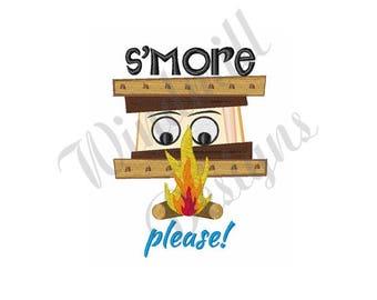 Smore Please - Machine Embroidery Design