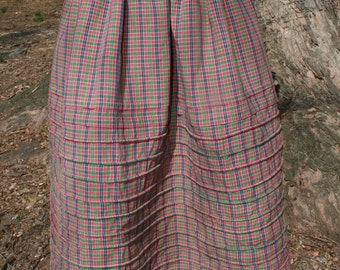 19th Century Corded Petticoat- MADE TO ORDER