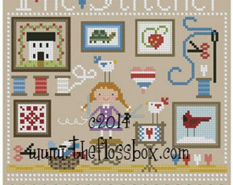 The Stitcher Cross Stitch Pattern