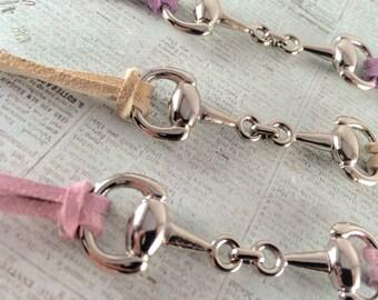 Silver Horsebit Bracelet