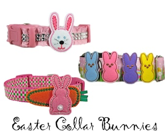 Easter Bunny Dog Collar Accessory