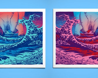 Diptych flow - Squirt & Blood