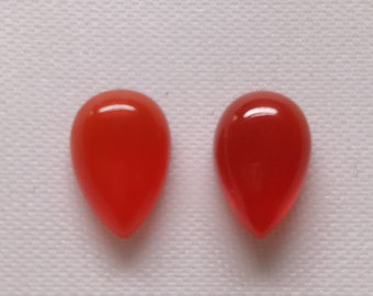 3.55 Ct Natural Corolin Smooth , Size  10x6 MM, Natural  Sunstone, Pear Shape, Loose Gemstone   642