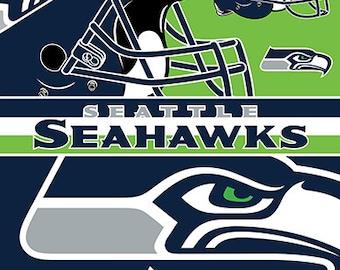 Seattle Seahawks Beach Towel For 2 54x68