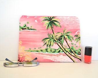 Project bag, large zipper pouch, zip travel wallet, gadget bag