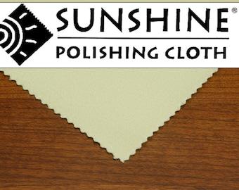 Sunshine Polishing Cloth, Bulk Pack, Large 7.5 X 5, Silver, Gold, Polishing Cloth