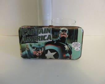 Captain America Comics Wallet