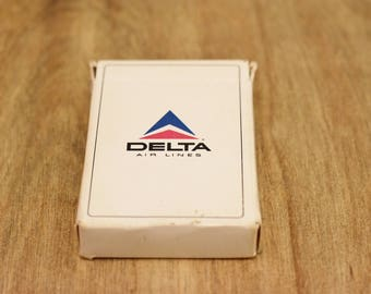 Vintage Delta Airlines Playing Cards Vintage Playing Cards Fort Lauderdale