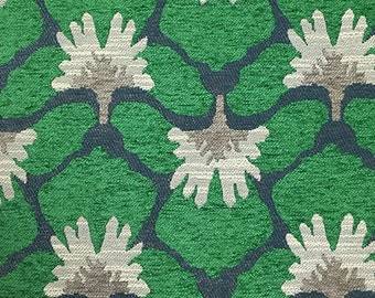 Upholstery Fabric - Chelsea - Emerald - Heavy Chenille Home Decor Upholstery & Throw Pillow Fabric by the Yard - Available in 8 Colors