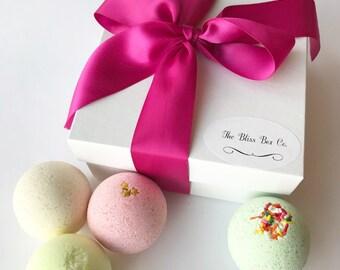 Birthday Bath Bomb Gift Set, Bath Bomb Gift Set, Bath Bombs, Gifts, Birthday Gifts, Boxed Gift Set