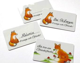 Lucky charm, Lucky card lucky Fox
