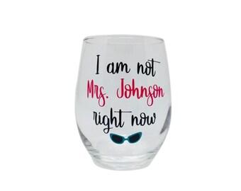 Teacher Wine Glass, Personalized Stemless Wine Glasses, Custom Name, Teacher Gift, Teacher Appreciation, Custom Wine Glass, Funny Wine Glass