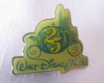 VINTAGE pin from Walt Disney World 25 anniversary VTG Walt Disney World Pin 25 th Anniversary VTG, Pin Collection