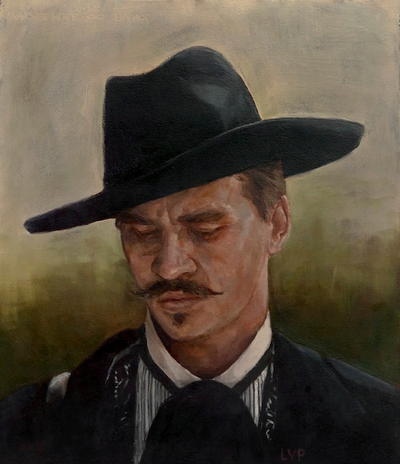 Doc Holliday, fine art print from oil painting, Tombstone