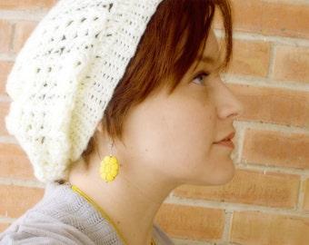 Crochet Bubble Slouch Beanie - INSTANT DOWNLOAD - Crochet Pattern PDF