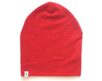 Baby Beanie - Slouchy Beanie - Red Bird Slouchy Beanie - Beanie Hat - Baby Slouchy Beanie - Slouchy Hat