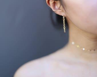 Halo Bar Dangle earrings