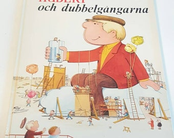 Philippe Fix, Beebo and the Fizzimen,  Vintage Children Book 1968, Swedish Story book, Antique book, Children's book, Stories for Children.