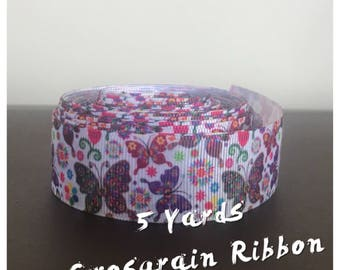 Butterfly Ribbon - 5 Yards