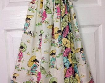 READY TO SHIP- Cute China Girls Pillowcase Dress Size 6