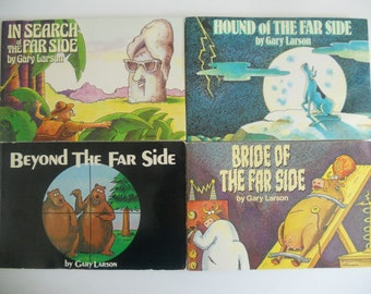 The Far Side by Gary Larson Set of 4 Books