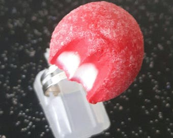 Ring candy Strawberry chewed