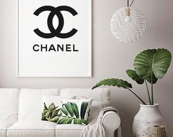 Chanel wall art, Chanel print, Coco Chanel decor, Chanel,COCO Chanel poster, Chanel home decor, Chanel, Chanel wall decor,Coco, Chanel decor
