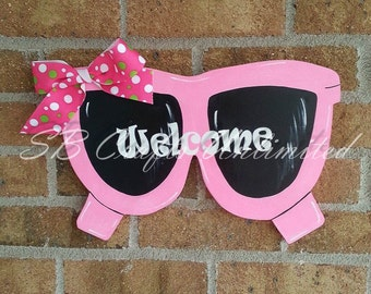 Sunglasses Wood Door Hanger