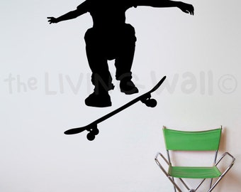 Skateboarding Wall Stickers Skateboard Wall Art wall decal skater for bedroom Skateboard Nursery & SPORT Wall Decals - The Living Wall
