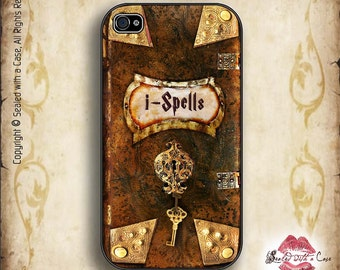 "iSpells - ""Harry potter"" style spellbook - iPhone 4/4S 5/5S/5C/6/6+ and now iPhone 7 cases!! And Samsung Galaxy S3/S4/S5/S6/S7"