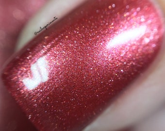 The Dora Milaje by CANVAS lacquer - a shimmery red