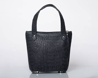 Black Handbag/ Black Purse/ Black Tote