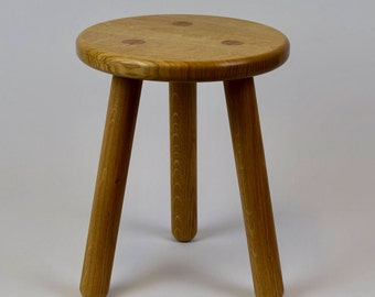 Stable Children's Oak Stool