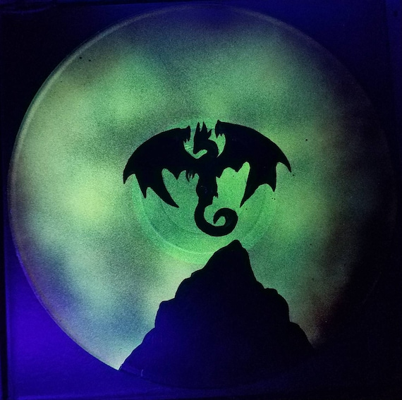 Glow In De Dark Dragon Record Dungeons And Dragons