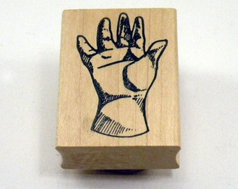 Rubber Stamp Hand