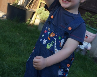 Dungarees Handmade & 100% Cotton **SALE**
