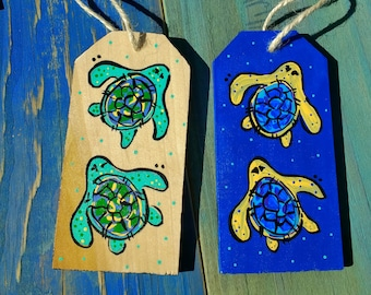 Wooden Tags Beach Florida life