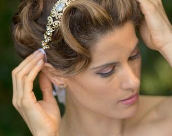 Swarovski Kristall Headband - Stirnband Crystal - Hochzeitssuite Stirnband - Hochzeitssuite Stirnband - Hochzeit-Kopfband - Hochzeit Headpiece - Tiara - ANNE