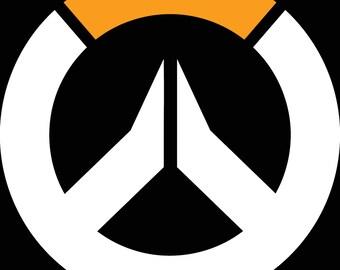 Overwatch Logo Vinyl Decal