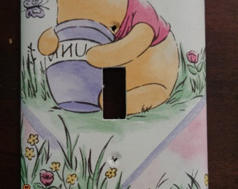 Disney Winnie the Pooh Bear Switch Plate