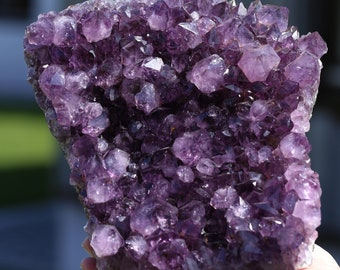 Amethyst * strangles * Drusenstück * Amethystdruse * Uruguay * 3380g * Purple * decor * Indoor climate * Accessories *