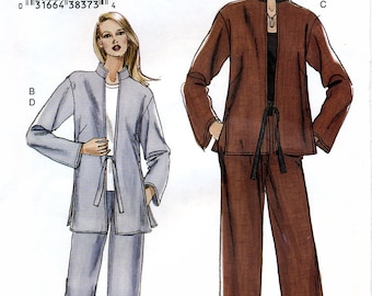 Vogue V7915 Sewing Pattern for Misses' Jacket and Pants - Uncut - Size 14, 16, 18