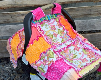 Carseat Canopy Pattern - Beginner Quilt Pattern - Baby Quilt Patterns - Easy Quilt Pattern - Baby Pattern - Car Seat Cover Pattern Addy Mae