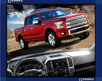 Ford F-150 Truck Panel-Ford F-150 Cotton Fabric Panel-Sold By the Panel-100% Cotton