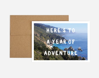 Adventure Birthday Greeting Card