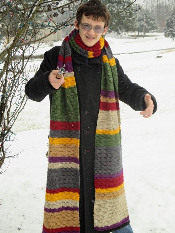 4th Doctor Who Scarf Pattern Crochet Digital File
