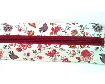 Waterproof pouch original education soft flower and Butterfly lining